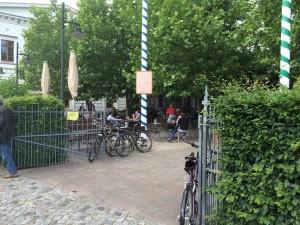 Bayerischer Bahnhof Biergarten